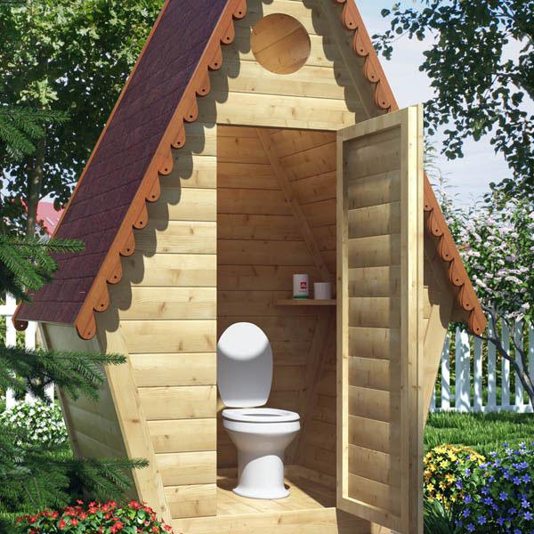Туалет на даче фото